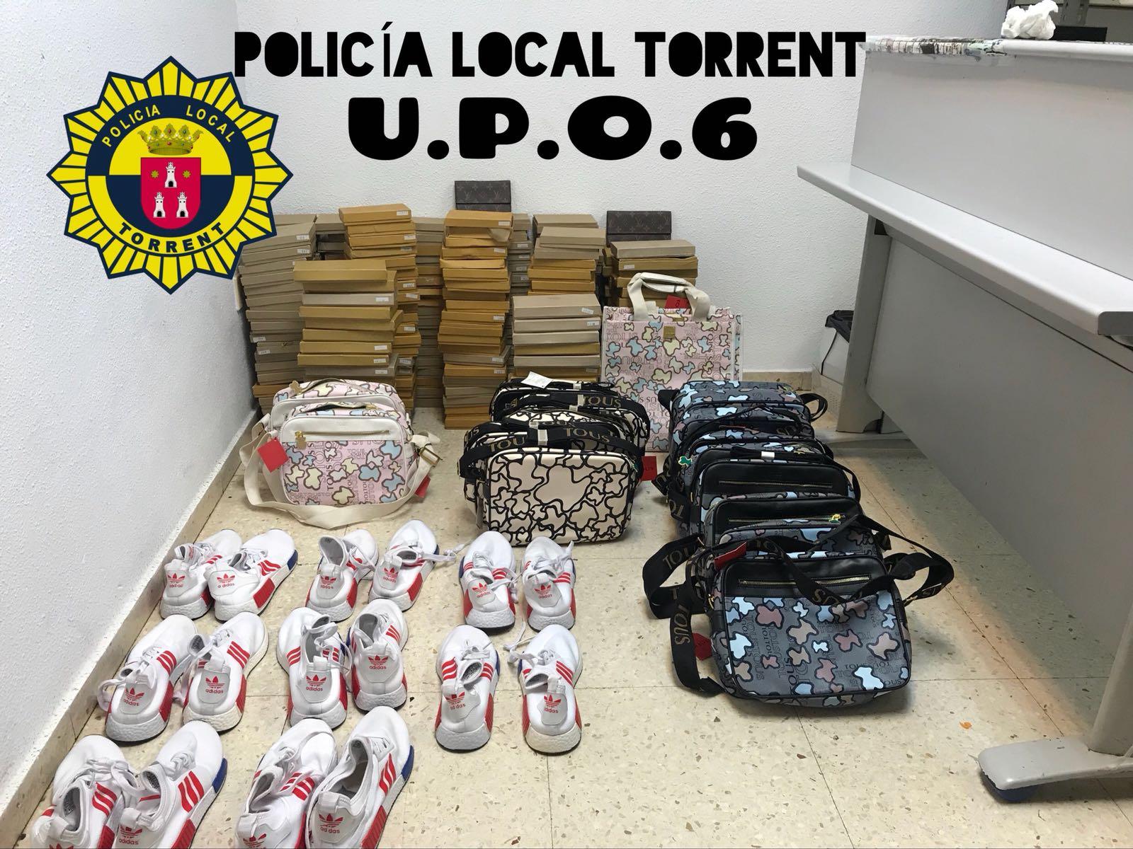 Policía Local de Torrent Interviene material falsificado de ...